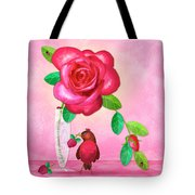 R Is For Rose And Robin Tote Bag