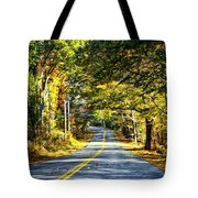 Autumn Paved Tote Bag