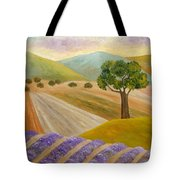 Lavender Sundown Tote Bag