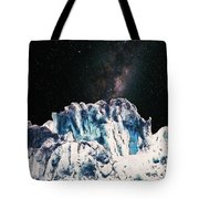 Universe In Winter Tote Bag
