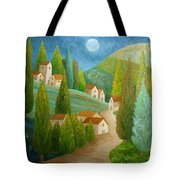 All Is Calm All Is Bright Tote Bag by Angeles M Pomata