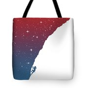 Night Climbing II Tote Bag