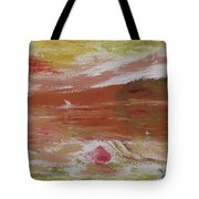 Birds And Sailboat In Paradise Tote Bag
