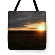 Mount Mansfield September Sunrise Six Tote Bag