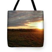 Mount Mansfield September Sunrise Seven Tote Bag