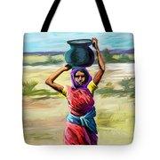 Water Carrier Tote Bag