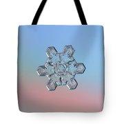 Real Snowflake - 10-jan-2019 - 1 Tote Bag by Alexey Kljatov