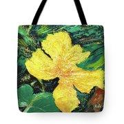 Dancing Flower Tote Bag