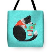 C Is For Collie Tote Bag