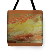 Winged Horse In The Sky Tote Bag