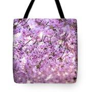 Cherry Blossom Flowers Tote Bag
