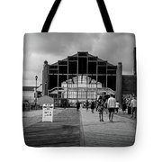 Asbury Park Boardwalk Tote Bag
