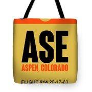 Ase Aspen Luggage Tag I Tote Bag