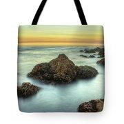 Asilomar Sunset Tote Bag