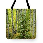 Aspen Christmas Tree Tote Bag