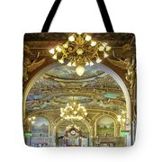 At Le Train Bleu Tote Bag
