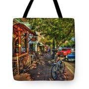 College Town Athens Georgia Downtown Uga Athens Georgia Art Tote Bag