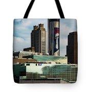 Atlanta Skyline 3 Tote Bag