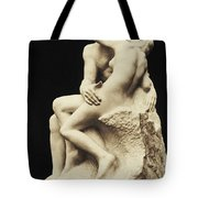 Auguste Rodin The Kiss, 1886 Marble Sculpture Tote Bag