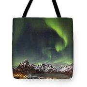 Aurora In Lofoten Tote Bag