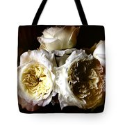 Austin Roses Notan Tote Bag