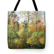 Automne, Peupliers, Eragny - Digital Remastered Edition Tote Bag
