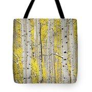 Autumn Aspens 6 Tote Bag by Leland D Howard