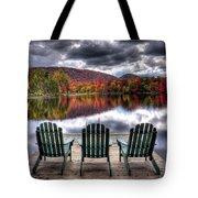 Autumn At The Lake Tote Bag