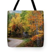 Autumn Buck  Tote Bag by Patti Deters