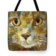 Autumn Cat Tote Bag