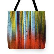 Autumn In Color Tote Bag by John De Bord