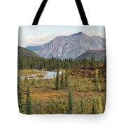 Autumn In Denali Tote Bag