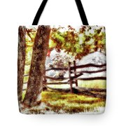 Autumn In Doughton Ap Tote Bag