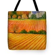 Autumn In French Vineyards Tote Bag