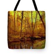 Autumn - Krasna River Tote Bag