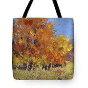 Autumn Treasure Tote Bag by David King