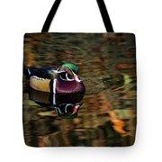 Autumn Woody Tote Bag