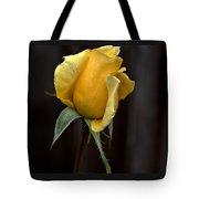 Autumn Yellow Rose Tote Bag
