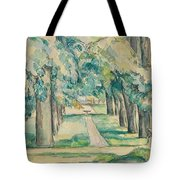 Avenue Of Chestnut Trees At The Jas De Bouffan  Tote Bag