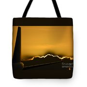 Aviation Sunset Tote Bag