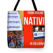Away In 100 Mangers Tote Bag
