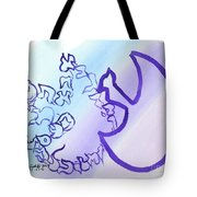 Ayin I See You Ab33 Tote Bag by Hebrewletters Sl