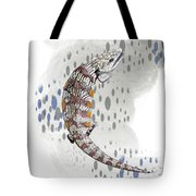 B Is For Blue Tongue Lizard Tote Bag