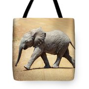 Baby African Elephant Tote Bag