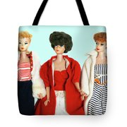 Baby It's Cold Outside Barbies Tote Bag