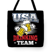 Bachelor Party Usa Drinking Team Beer Party Cheers Gift Tote Bag