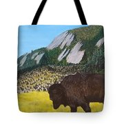 Back From The Brink Tote Bag by Kevin Daly