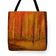 Back Woods Tote Bag