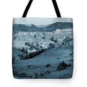 Badlands Shadows And Sunlight Tote Bag