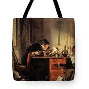 Bailie Duncan Mcwheeble At Breakfast Tote Bag